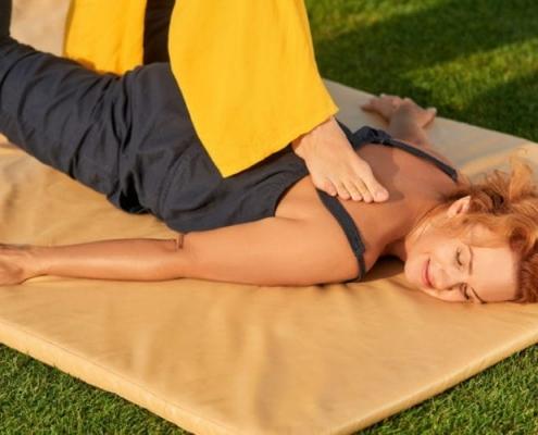 back walking massage